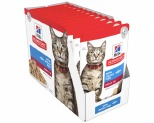HILL'S SCIENCE DIET WET CAT FOOD OCEAN FISH ADULT POUCHES 12X85G