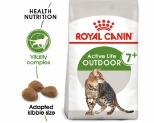 ROYAL CANIN FELINE OUTDOOR 7+ CAT FOOD 2KG