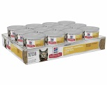 HILL'S SCIENCE DIET URINARY HAIRBALL CONTROL WET CAT FOOD SAVORY CHICKEN ENTRÉE ADULT 24X82G
