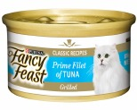 FANCY FEAST GRILLED TUNA PRIME FILLET 85G