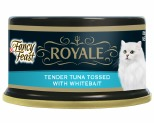 FANCY FEAST ROYALE TENDER TUNA WHITEBAIT 85G