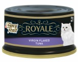 FANCY FEAST ROYALE VIRGIN FLAKE TUNA 85G