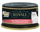 FANCY FEAST ROYALE WHITEMEAT TUNA AFFAIR WITH CRAB 85G
