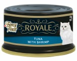 FANCY FEAST ROYALE YELLOW FIN TUNA AND SHRIMP 85G