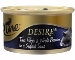 DINE DESIRE 85G TUNA & WHOLE PRAWNS SEAFOOD SAUCE