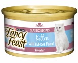 FANCY FEAST KITTEN OCEAN WHITE FISH FEAST 85G