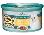 FANCY FEAST TUSCAN STYLE TUNA AND RICE 85G