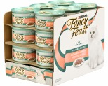 FANCY FEAST SENSATION FLORENTINE SALMON AND DELICATE SAUCE 85G (X24)