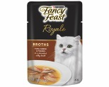 FANCY FEAST BROTH TUNA SURIMI PRAWN 40G