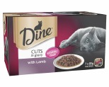 DINE MULTI PACK WITH LAMB MORSELS 85G (7)