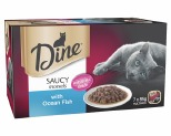 DINE MULTI PACK WITH OCEAN FISH IN SEAFOOD SAUCE 85G (7)