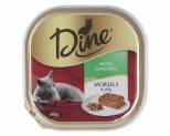 DINE 85G MORSELS IN JELLY WITH CHICKEN
