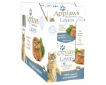 APPLAWS CAT LAYER POT TUNA & ANCHOVY 10X70G