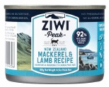 ZIWIPEAK CAT CAN MACKEREL & LAMB 185G