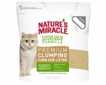 NATURES MIRACLE PREMIUM CORN COB CLUMPING CAT LITTER 8KG