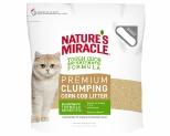 NATURES MIRACLE PREMIUM CORN COB CLUMPING CAT LITTER 8KG