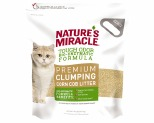 NATURES MIRACLE PREMIUM CORN COB CLUMPING CAT LITTER 4.5KG
