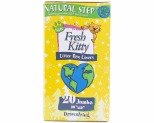 FRESH KITTY LITTER BOX LINERS  JUMBO NATURAL STEP 20PK