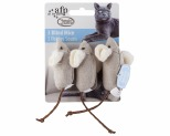 ALL FOR PAWS (AFP) CAT TOY CLASSIC COMFORT 3 BLIND MICE