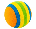 PAWISE CAT TOY RAINBOW BALL