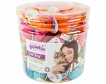PAWISE CAT TOY CADDICE MICE 96PC