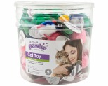 PAWISE CAT TOY ANIMAL PARTY 72 PIECE
