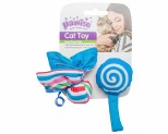 PAWISE CANDY AND FLOWER CAT TOY