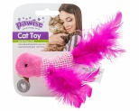 PAWISE TOY BIRD WITH 100% CATNIP