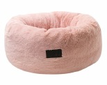 LA DOGGIE VITA PLUSH CAT BED PINK