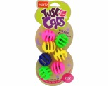 HARTZ JUST FOR CATS MIDNIGHT CRAZY BALLS CAT TOY