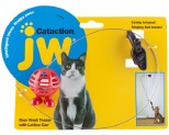 JW CAT TOY LATTICE CUZ BALL DOORHANGER**
