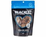 BLACK CAT FISH DELITES TREATS FOR CATS 60G