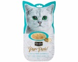KIT CAT PURR PUREE - TUNA & FIBRE (HAIRBALL) CAT WET TREAT 60GM