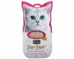 KIT CAT PURR PUREE - TUNA & SMOKED FISH CAT WET TREAT 60GM