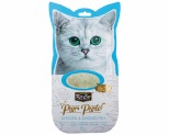 KIT CAT PURR PUREE - CHICKEN & SMOKED FISH CAT WET TREAT 60GM