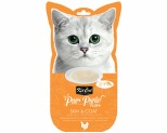 KIT CAT PURR PUREE PLUS SKIN & COAT 4X15GM