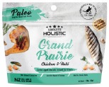 ABSOLUTE HOLISTIC AIR DRIED CAT TREATS - GRAND PRAIRIE CHICKEN & HOKI 50GM