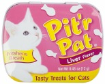 PIT'R PAT CAT BREATH TREATS LIVER