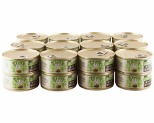 HOLISTIC SELECT GRAIN FREE WET CAT FOOD CHICKEN LIVER AND LAMB ADULT CANNED 24 X 156G