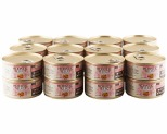 HOLISTIC SELECT GRAIN FREE WET CAT FOOD SALMON AND SHRIMP ADULT CANNED 24 X 156G