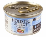 HOLISTIC SELECT GRAIN FREE WET CAT FOOD OCEAN CATCH FISH AND TUNA ADULT CANNED 85G