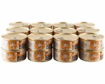 HOLISTIC SELECT GRAIN FREE WET CAT FOOD TURKEY AND SALMON ADULT CANNED 24 X 85G