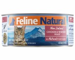 FELINE NATURAL CANNED CHICKEN AND VENISON 85GM