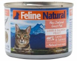 FELINE NATURAL LAMB & SALMON 170G