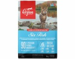 ORIJEN SIX FISH CAT BIOLOGICALLY APPROPRIATE CAT FOOD 1.8KG