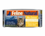 FELINE NATURAL CANNED CHICKEN CAT FOOD 85G X 24