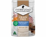 IVORY COAT CAT LITE MATURE CHICKEN & OCEAN FISH IN GRAVY 12X85G