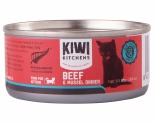 KIWI KITCHENS KITTEN BEEF AND MUSSEL CAN 85GX24**
