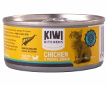 KIWI KITCHENS KITTEN CHICKEN AND MUSSEL CAN 85G