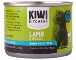 KIWI KITCHENS KITTEN LAMB AND MUSSEL CAN 170GX24